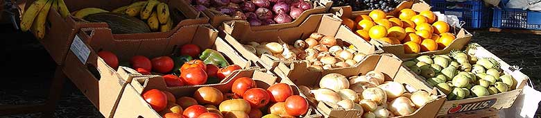 Farmers markets at La Palma
